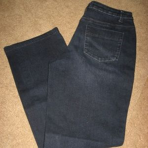 Womens COLDWATER CREEK Stretch Boot Jeans 4 Short